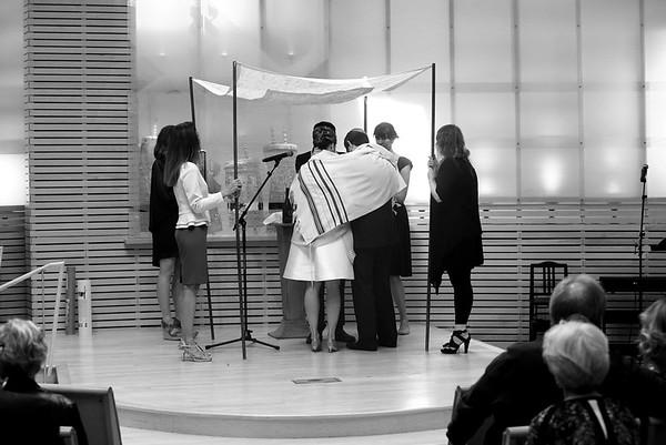 Jewish wedding, Temple Akiba, Culver City