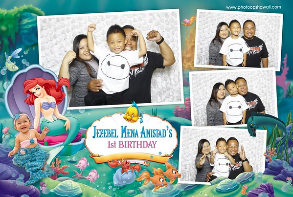 Jezebel's 1st Birthday (Fusion Photo Booth)