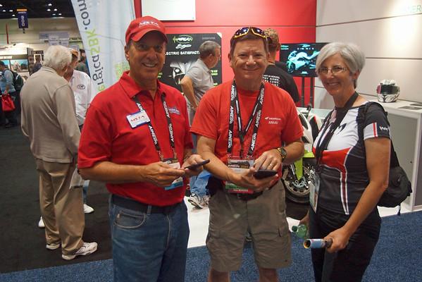 Dennis, Doug and Becky