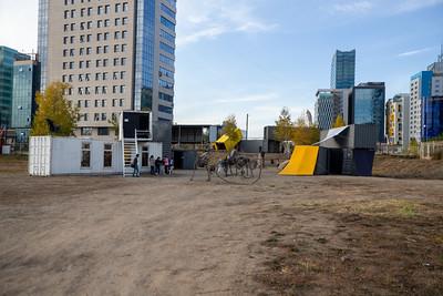 """2021 оны есдүгээр сарын 17. """"Улаанбаатар арт"""" фестивалийн хүрээнд Контейнер урлагийн симпозиум эхэллээ."""