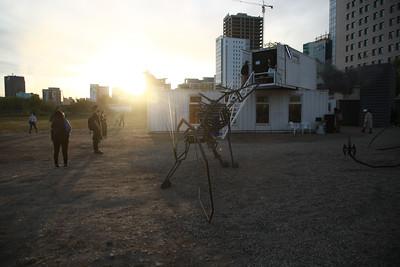"""2021 оны есдүгээр сарын 17. 2021 оны есдүгээр сарын 17. """"Улаанбаатар арт"""" фестивалийн хүрээнд Контейнер урлагийн симпозиум эхэллээ. ГЭРЭЛ ЗУРГИЙГ Д.ЗАНДАНБАТ/MPA"""