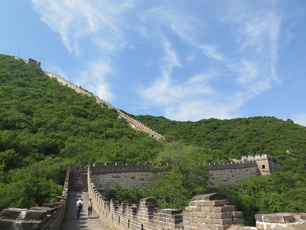 Hilke the Great wall from Jiankou to Mutianyu