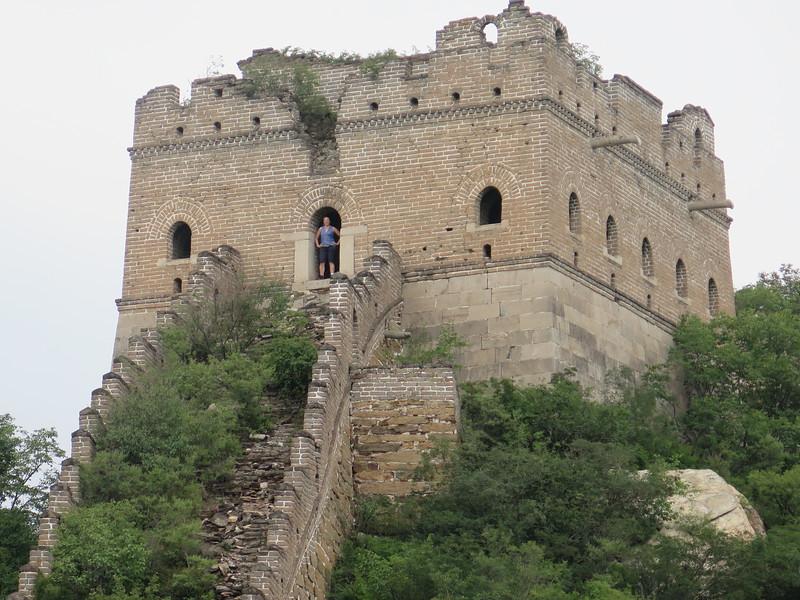 Jiankou Great wall trekking