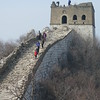 hike the Great wall  from Jiankou to Mutianyu