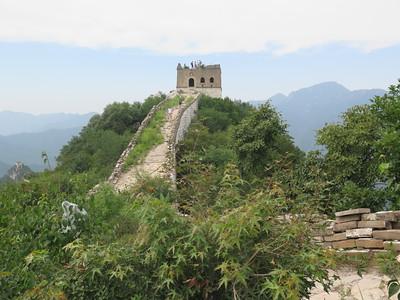jiankou to mutianyu great wall hike trip【July】