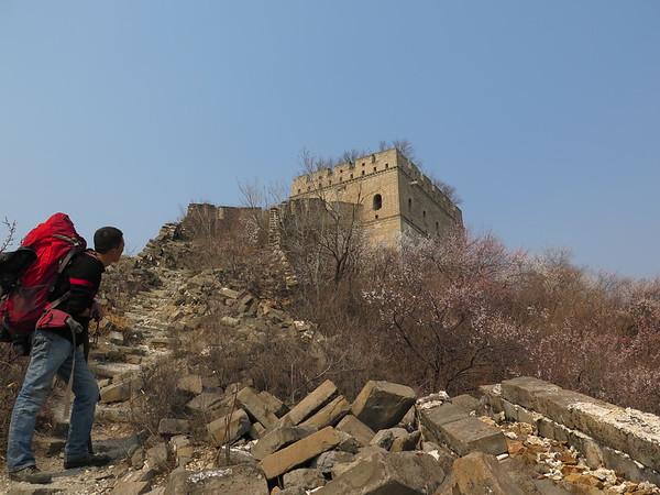 Jiankou Great wall camping