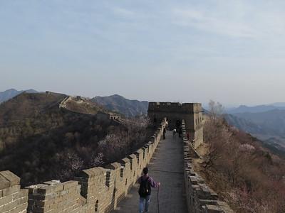 April hike the Jiankou to mutianyu Great wall