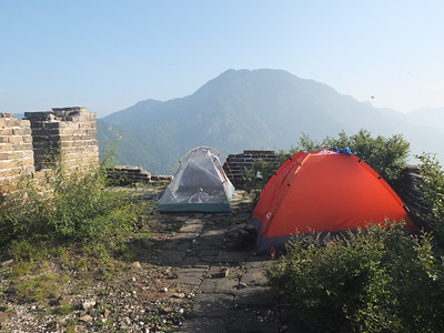 jiankou west great wall camping【June】