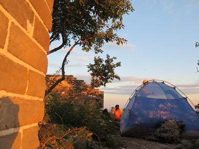 Jiankou(Arrow Nock) west great wall camping
