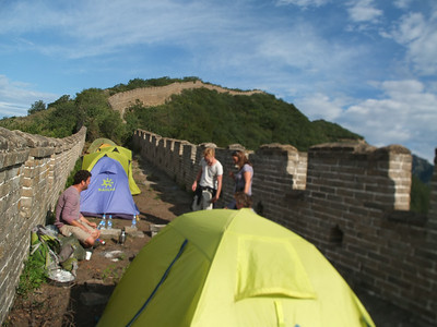 Jiankou west part camping