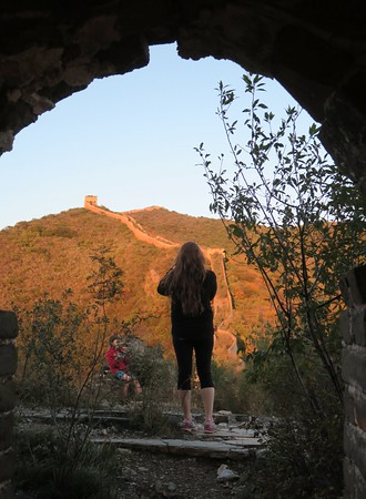 Jiankou great wall hiking and camping