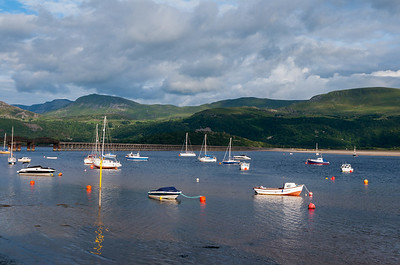 Boats at Barmouth.