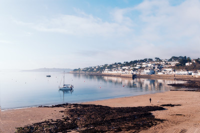 Calm water at St. Mawes