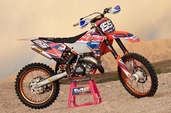 Jillian Goodart's 2007 KTM 144SX