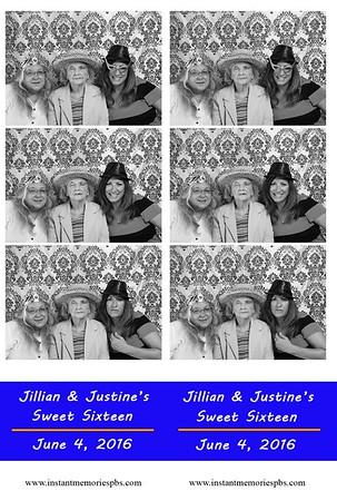 Jillian & Justine's Sweet Sixteen 6-4-2016
