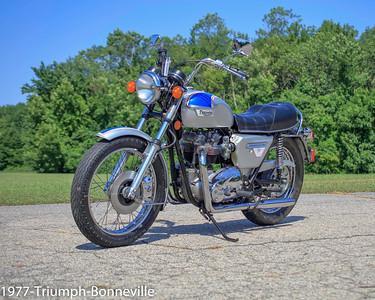 Classic British Motorcycle