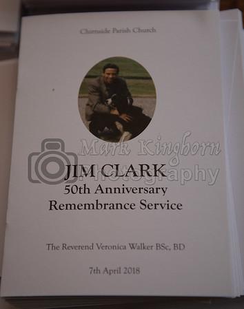 Jim Clark Exhibition Sat 7th April