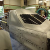 All hand-formed body panels....and, it not thin