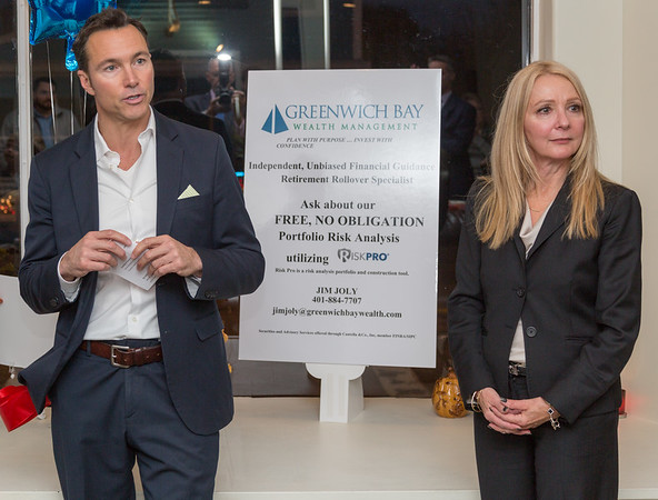 Greenwich Bay Wealth Management, Ribbon cutting-EGCC