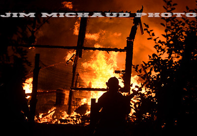 Barn Fire - Barber Hill Rd, Broad Brook, CT - 8/18/18
