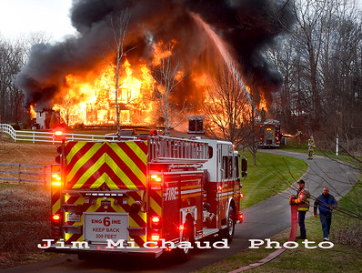 House Fire - Broad Brook, CT - 4/11/19