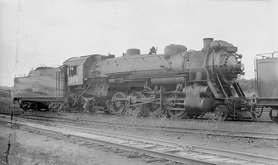 2016.020.99.003--jim neubauer 116 neg [John Mateka]--GTW--steam locomotive 2-8-2 S-3-b 3741--location unknown--c1952 0000