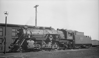 2016.020.99.111--jim neubauer 116 neg--CNR--steam locomotive S-1-f 2-8-2 3477--location unknown--c1951 0000