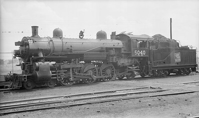 2016.020.99.004--jim neubauer 116 neg [John Mateka]--GTW--steam locomotive 4-6-2 J-3-a 5040--location unknown--c1952 0000