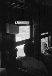 2016.020.98.234--jim neubauer 828 neg--D&RGW--view from on board The Silverton--location unknown--c1952 0000