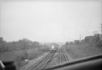 2016.020.98.138--jim neubauer 828 neg--CRI&P--view from cab at approaching train--location unknown--c1952 0000