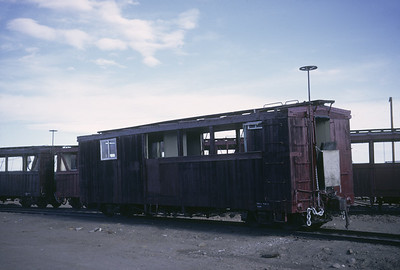 2016.020.50.17--neubauer 35mm kodachrome--C&TS--first season passenger boxcar concession car--Antonito CO--1971 0700