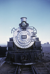 2016.020.50.13--neubauer 35mm kodachrome--C&TS--first season 2-8-2 484 at service track--Antonito CO--1971 0700