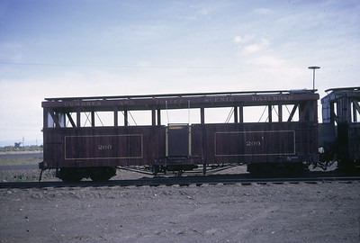 2016.020.50.15--neubauer 35mm kodachrome--C&TS--first season passenger boxcar coach--Antonito CO--1971 0700