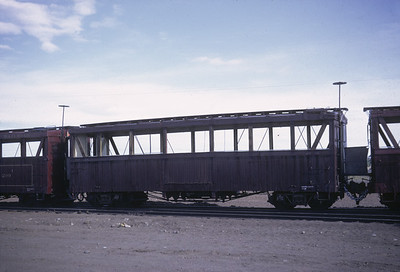 2016.020.50.16--neubauer 35mm kodachrome--C&TS--first season passenger boxcar coach--Antonito CO--1971 0700