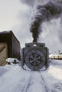 2016.020.51.03--neubauer 35mm kodachrome--C&TS--rotary snowplow OM fantrip preparation--Chama NM--1975 0200