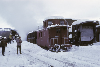 2016.020.51.10--neubauer 35mm kodachrome--C&TS--rotary snowplow OM fantrip ready to depart--Chama NM--1975 0200