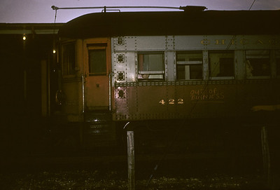 2016.020.13.1957-07--neubauer 35mm kodachrome--CA&E--electric interurban 422--Forest Park IL-1957 0424