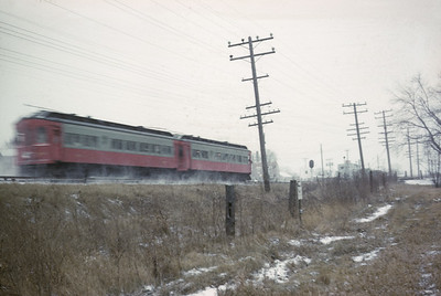 2016.020.13.1958-05--neubauer 35mm kodachrome--CA&E--electric interurban 320 and 319 last fantrip--Warrenville IL--1958 1207