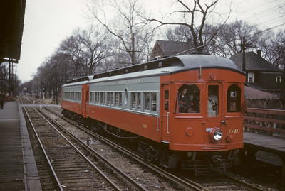 2016.020.13.1958-01--neubauer 35mm kodachrome--CA&E--electric interurban 320 and 319 last fantrip at 5th Ave--Maywood IL--1958 1207