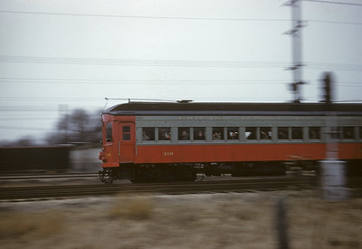 2016.020.13.1958-03--neubauer 35mm kodachrome--CA&E--electric interurban 320 and 319 last fantrip action--west of Maywood IL--1958 1207