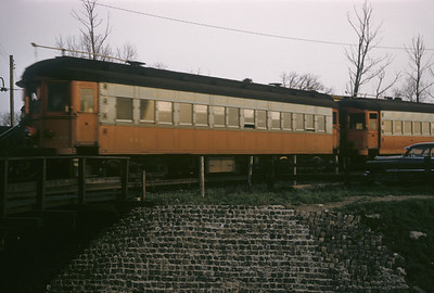 2016.020.13.1957-02--neubauer 35mm kodachrome--CA&E--electric interurban 431--Forest Park IL--1957 0424