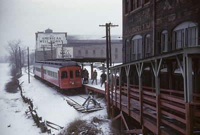 2016.020.13.1958-07--neubauer 35mm kodachrome--CA&E--electric interurban 320 and 319 last fantrip--Aurora IL--1958 1207