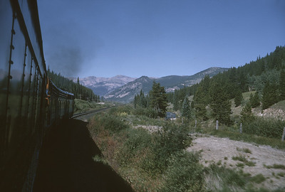 2016.020.26.13--jim neubauer 35mm kodachrome--D&RGW--view from passenger train--location unknown--1963 0900