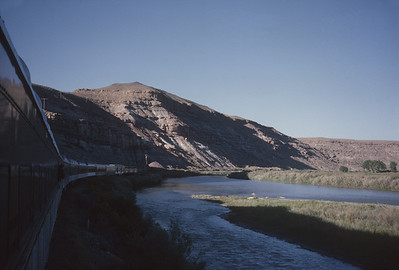 2016.020.26.32--jim neubauer 35mm kodachrome--D&RGW--view from passenger train vestibule--location unknown--1963 0900