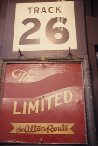 2016.020.05.10--jim neubauer 35mm ektachrome--GM&O--Union Station track sign--Chicago IL--1969 0300