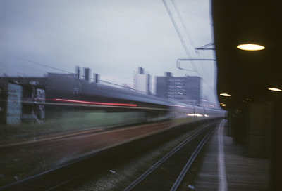 2016.020.04.23--jim neubauer 35mm kodachrome--ICRR--Panama Ltd passenger train action at dusk at 57th Street--Chicago IL--1968 1000