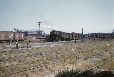 2016.020.02.1955-02--neubauer 35mm kodachrome--CMStP&P--steam locomotive 2-8-0 1258 switching in yard scene--Milwaukee WI--1955 1000
