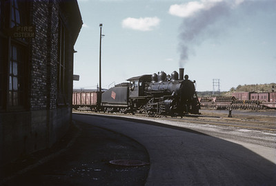 2016.020.02.1955-07--neubauer 35mm kodachrome--CMStP&P--steam locomotive 0-6-0 1531 switching cars in yard scene--Milwaukee WI--1955 1000