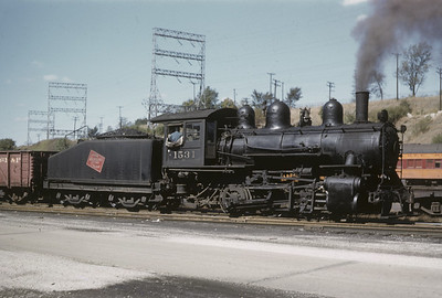 2016.020.02.1955-09--neubauer 35mm kodachrome--CMStP&P--steam locomotive 0-6-0 1531 in yard--Milwaukee WI--1955 1000