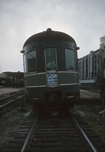 2016.020.20.23--jim neubauer 35mm kodachrome--NYC--obs-lounge car on hind end The Century passenger train--South Bend IN--1963 0500